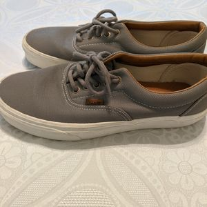 VANS -- gray men's size 8.5 NWOT